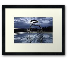 Blue Visions 5 Framed Print