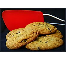 Spatula and Cookies Photographic Print