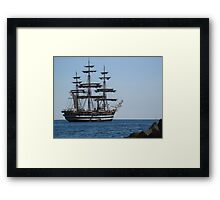 "Tutti a bordo dell'  ""AMERIGO VESPUCCI""...8000 visualIZZAZ DICEMBRE 2013- FEATURED in italia 500+-FEATURED RB EX  PLORE 13 DICEMBRE 2011...---. Framed Print"
