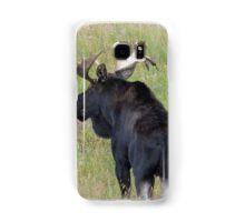 Bull Moose in Colorado Samsung Galaxy Case/Skin