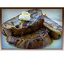 Sweet Potato French Toast Photographic Print