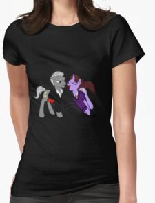 12th and Missy Pony  - Doctor Who / My Little Pony T-Shirt