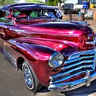 A Shiny Red Chevy by Ray Chiarello