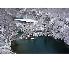 Lake and ice Photographic Print