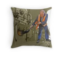 The Fireman Throw Pillow