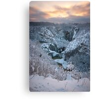 In the winter time II Canvas Print