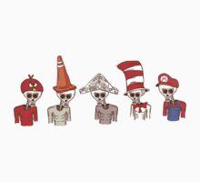 Skeleton Headwear by creativepanic