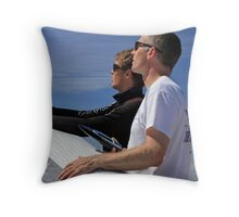 Checking Conditions Throw Pillow