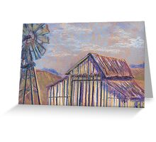 Maurice Car'rie Barn (pastel) Greeting Card