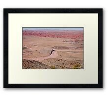 The Painted Desert 8042 Framed Print