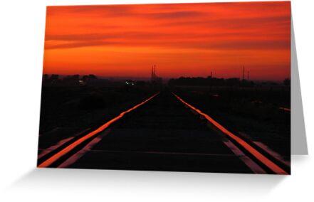 11-11-11........Fire In The Sky by Brenda Dahl