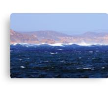 Turbulant Waters Canvas Print
