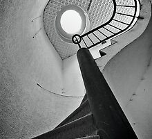 Twisted stairs by Jean-Claude Dahn