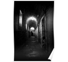 Grim corridor in Kilmainham gaol Poster