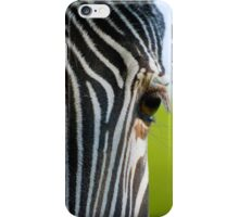Zebra Eye iPhone Case/Skin