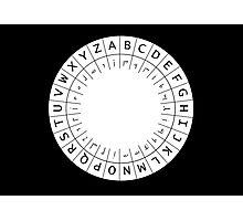 The One (Decoder) Ring Photographic Print