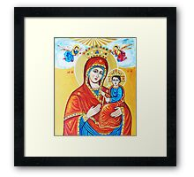 Virgin Mary with the Child Jesus  Framed Print