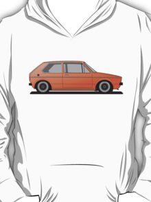 Volkswagen Golf Mk1 - Orange Version 2 T-Shirt
