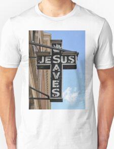 Jesus Saves Sign T-Shirt