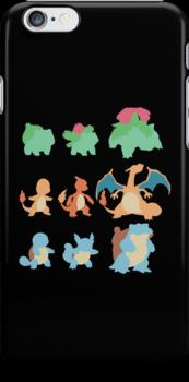 Evolution of Pokemon by Jobboman
