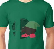 Link (Kirby Hat) - Sunset Shores Unisex T-Shirt