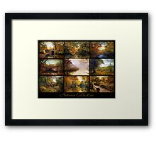 Autumn Collage Framed Print