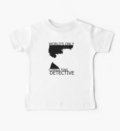 World's Only Consulting Detective Baby Tee