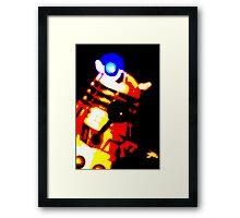 Dalek Pop Art Print Poster or Canvas Framed Print