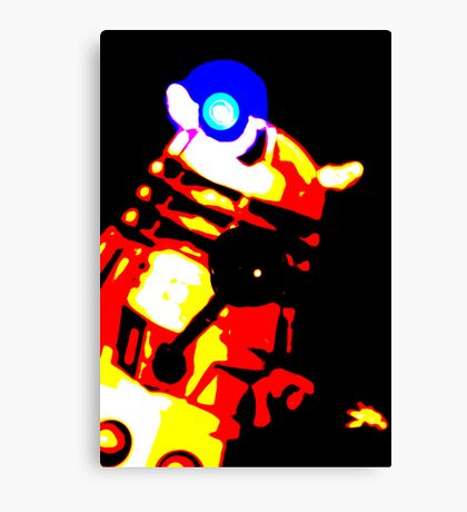 Dalek Pop Art Print Poster or Canvas Canvas Print
