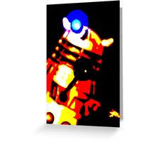 Dalek Pop Art Print Poster or Canvas Greeting Card