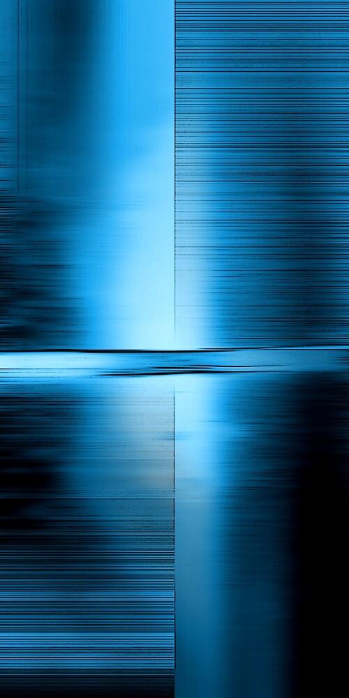 Shimmering Blue by Benedikt Amrhein