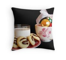 Waiting for Santa 2 Throw Pillow