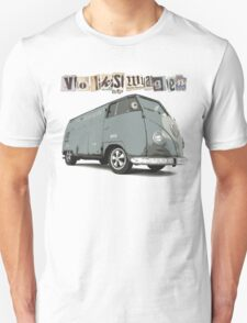 Volkswagen Paper Cuttings Unisex T-Shirt