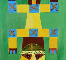 this is a dogon mask by salvadorewoody