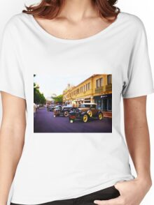 Vintage, Antique Cars on Display, Color Women's Relaxed Fit T-Shirt