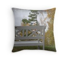 Villa Sjotorp view Throw Pillow
