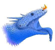 Blue Tongue Dragon by AfroHerpkeeper