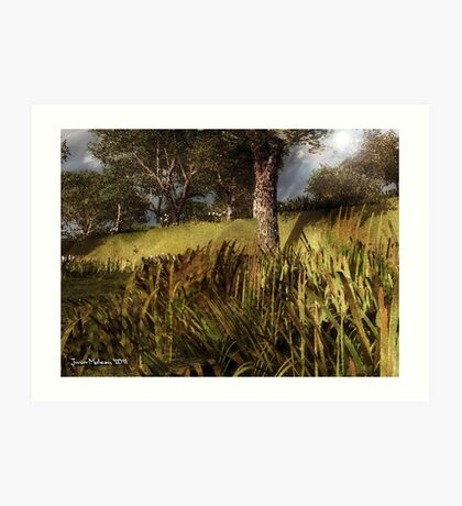 A Nice Place to Sleep and Get Away from Drama Art Print