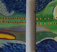 A pair of paintings of a nommo memory by salvadorewoody