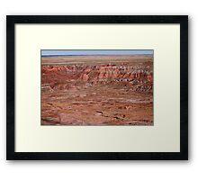 The Painted Desert  8064 Framed Print