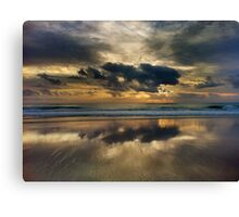 The Magic Of The Morning Canvas Print
