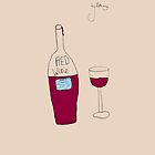 Red Wine by Bethany by james miller