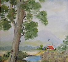 Aussie Country Scene by JaninesWorld