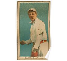 Benjamin K Edwards Collection Bodie San Francisco Team baseball card portrait Poster