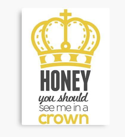 You Should See Me In A Crown - Moriarty Sherlock Canvas Print