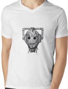 Handles Mens V-Neck T-Shirt
