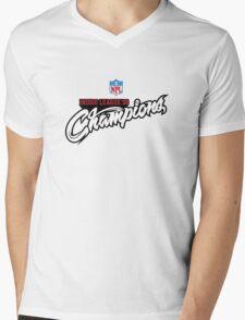 Indigo League Champions Mens V-Neck T-Shirt