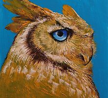 Great Horned Owl by Michael Creese