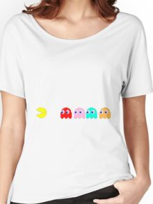 Pacman is scared Women's Relaxed Fit T-Shirt