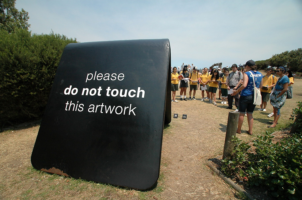 Do Not Touch @ Sculptures By The Sea by muz2142